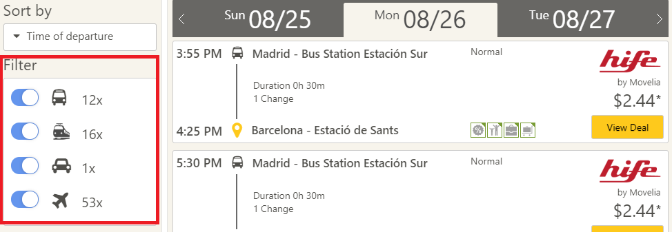 Bus-Search: Find all bus routes • CheckMyBus