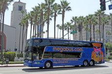 Megabus Los Angeles. CA