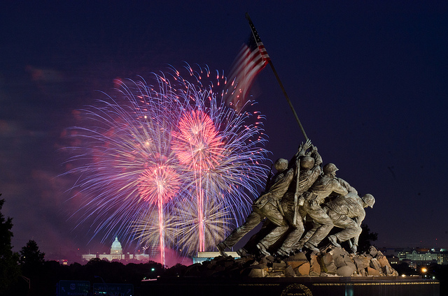 Washington DC - Best 4 July celebrations