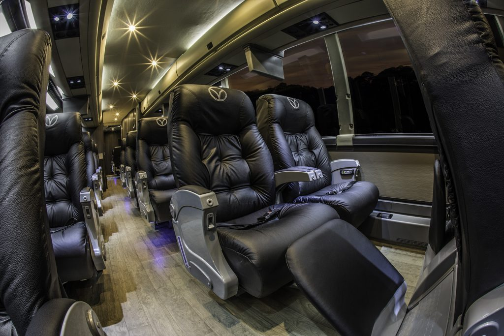 Luxury buses from Dallas to Houston