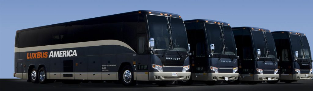 Luxury buses from LA to Vegas