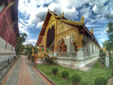 Temple at Chiang Mai