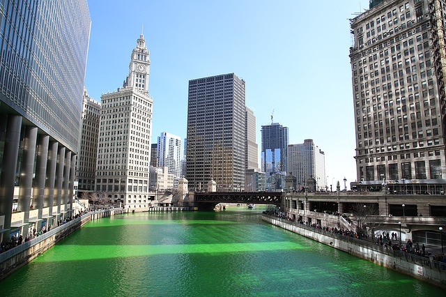 Witness Chicago's Emerald River